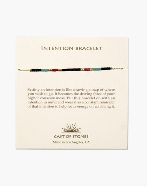 Micro Bead Intention Bracelet - Multi Color