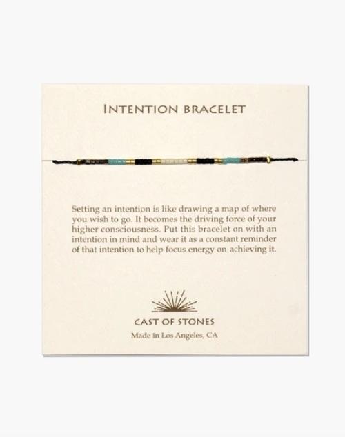 Micro Bead Intention Bracelet - Indian Summer