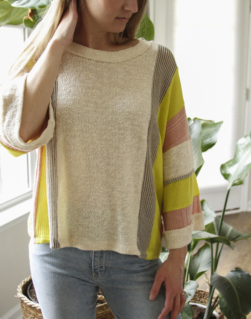 Neon Dream Oversized Top