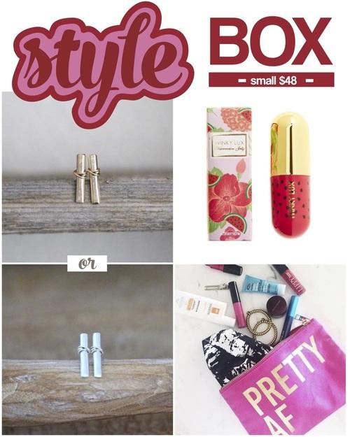 Mapel Style Box Small
