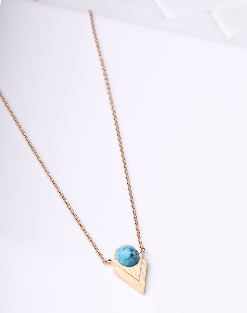 Turquosie Aztec Necklace
