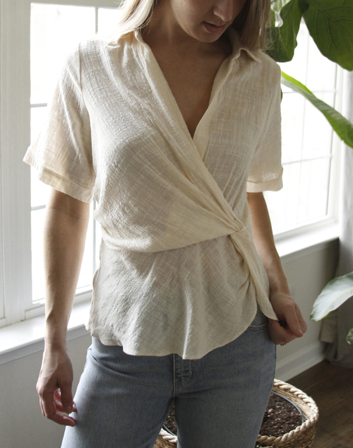 The Dunes Collared Blouse