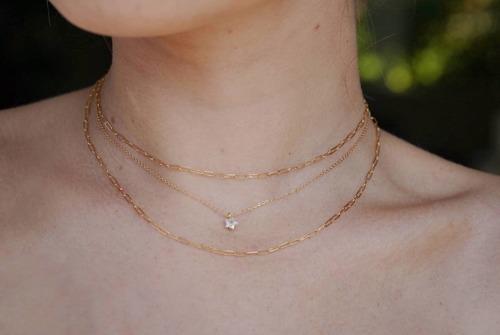 Glass Star Necklace