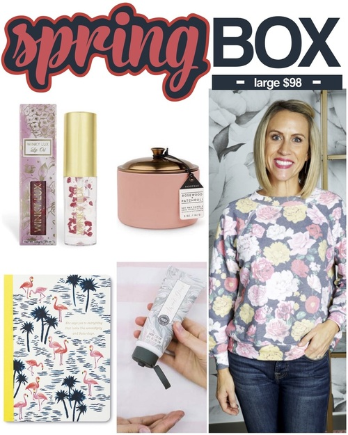 Mapel Spring Box Large