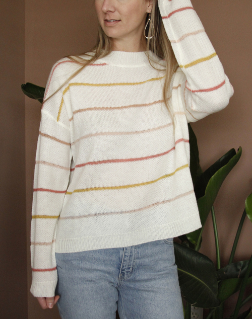 Sunrise Stripe Sweater