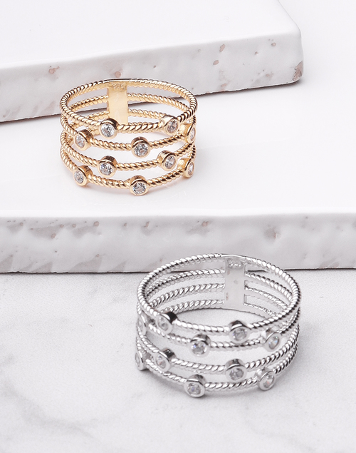 Rope Banded Ring
