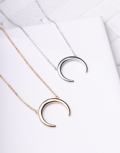Crescent Large Necklace