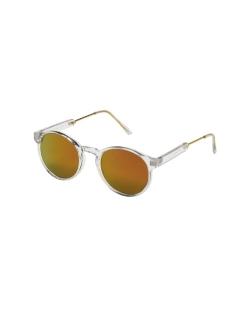 Heritage Collection Clear/ Red Sunglasses