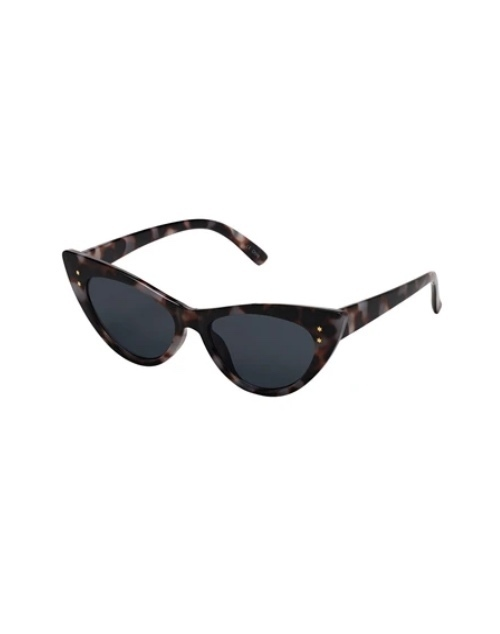 Old Hollywood Collection Dark Ivory Tortoise Sunglasses