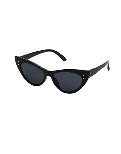 Old Hollywood Collection Black Sunglasses