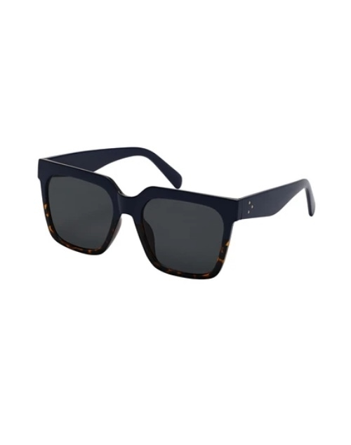 Rose Collection Two Tone Blue/Tort Sunglasses