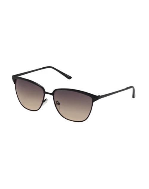 Jade Collection Black/Gradient Brown Sunglasses