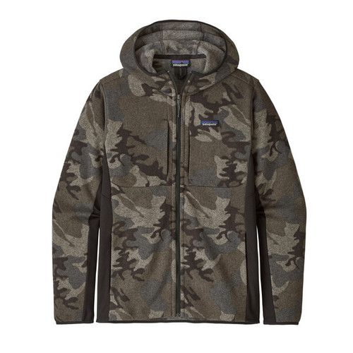 Patagonia M LW Better Sweater Hoody River Delta: Forge Grey