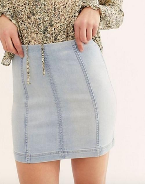 Modern Femme Denim Skirt