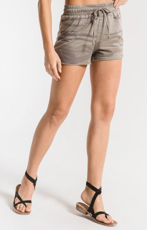 Z Supply ZS201145 CAMO SPORTY SHORT LIGHT SAGE