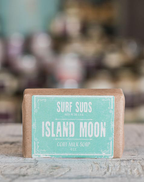 Surf Suds Goat Milk - Island Moon