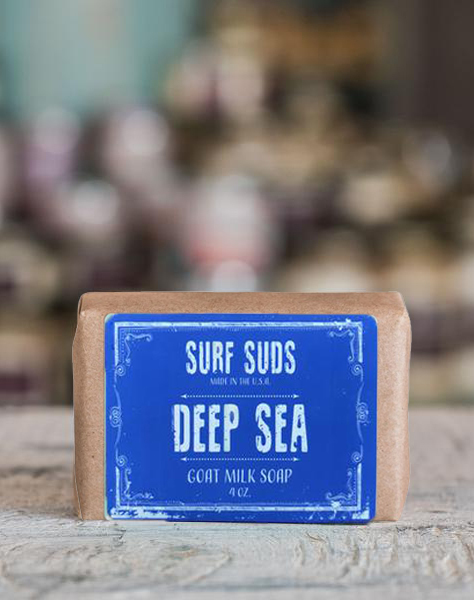 Surf Suds Goat Milk & Oat Soap - Deep Sea