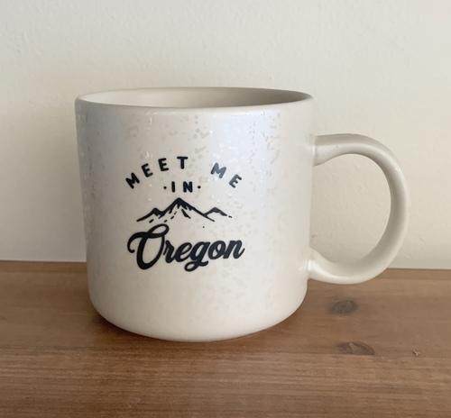 Meet Me In Oregon Mug