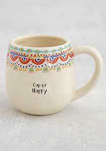 Happy Borders Mug