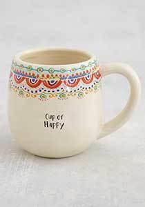 Happy Borders Mug