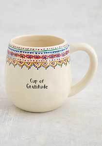 Graditude Borders Mug
