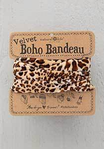 Velvet Brown Leopard