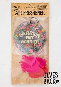 Warrior not Worrier