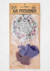 A Wise Girl...Air Freshner