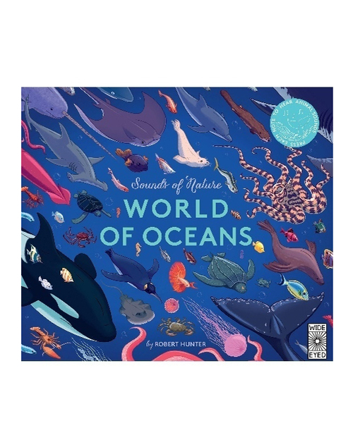 Sound Of Nature Oceans Book