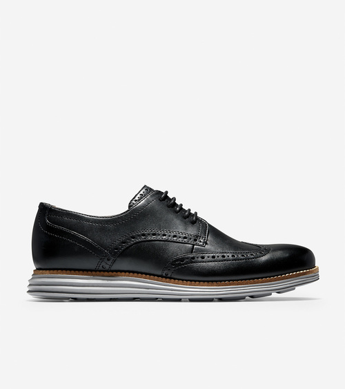 Cole Haan Original Grand Wingtip Black/ Ironstone
