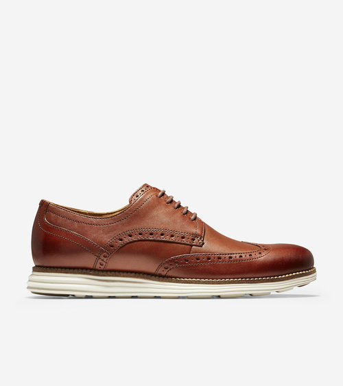 Cole Haan Original Grand Shortwing Woodbury / Ivory