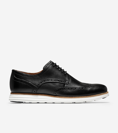 Cole Haan Original Grand Shortwing Black / White