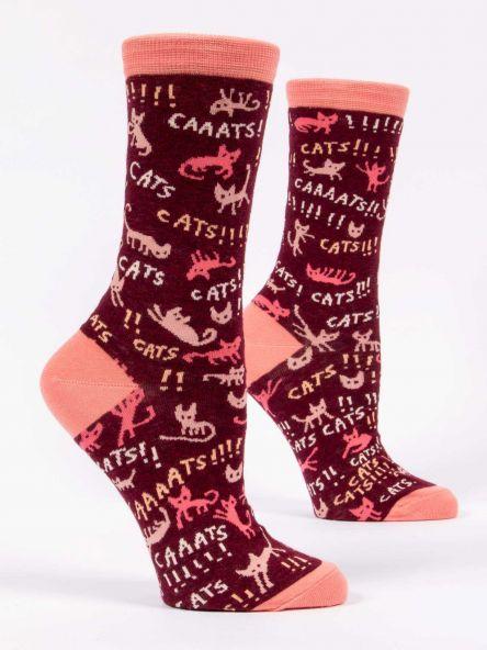 Blue Q W Socks Cats!