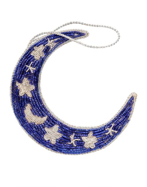 Crescent Moon Ornament