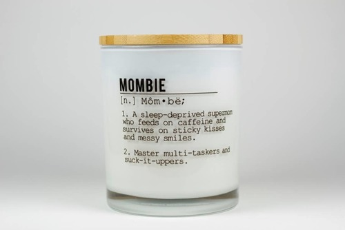 Mombie Soy Candle Hazelnut Coffee