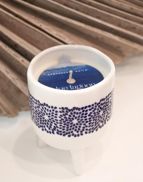 Dot Sunset Beach Jar Candle