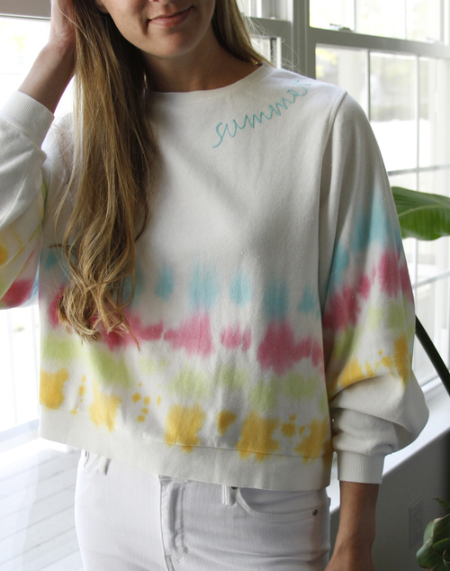 Summer Stiched Sweater