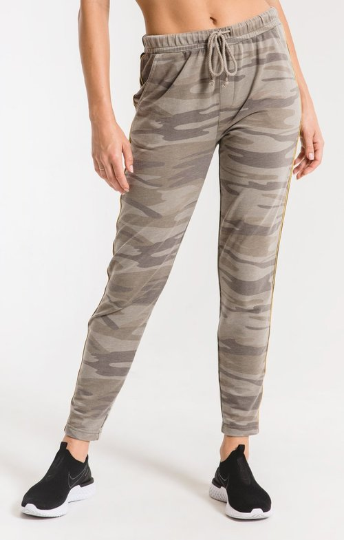 Camo Sporty Jogger Pant Light Sage