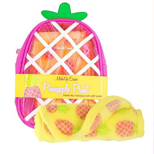 Tropical Pineapple Print Make Up Eraser