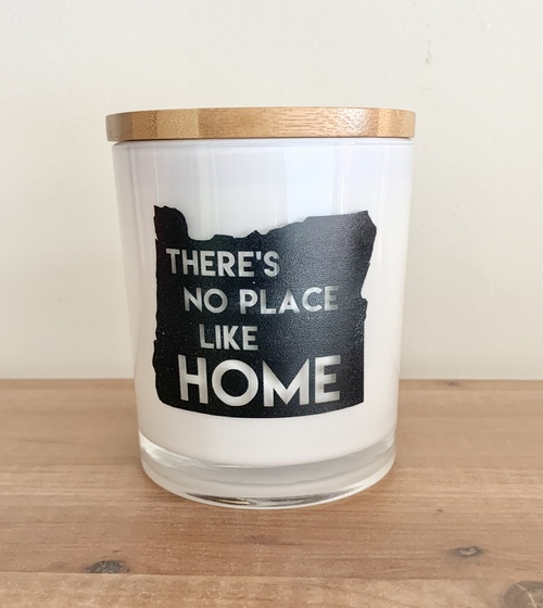 Oregon No Place Like Home Soy Candle Sugared Citrus