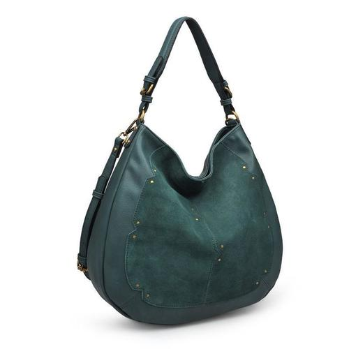 Jolie Emerald Hobo Bag