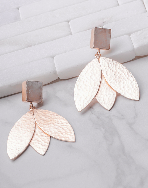 Eden Earrings- Moonstone 18K Gold Plated