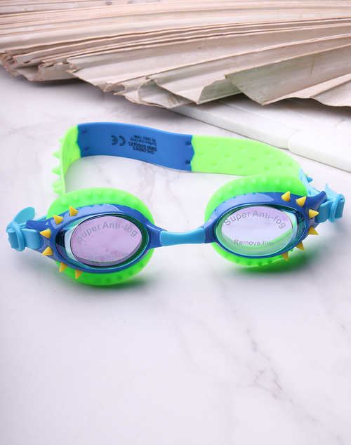Lockness Blue Single Style Goggles - Nelly