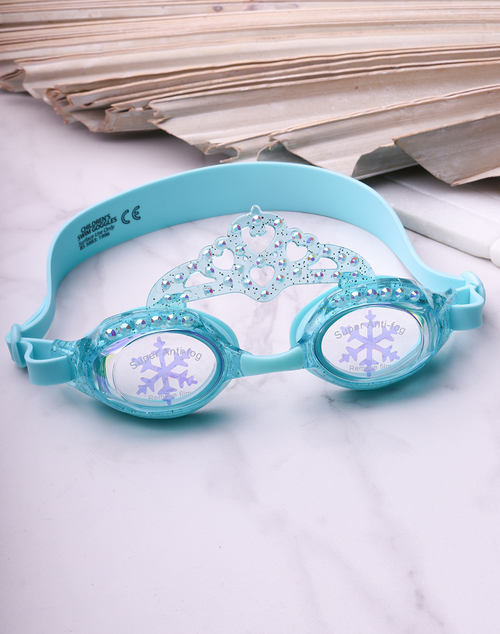 Snowflake Goggles - Frosty Blue