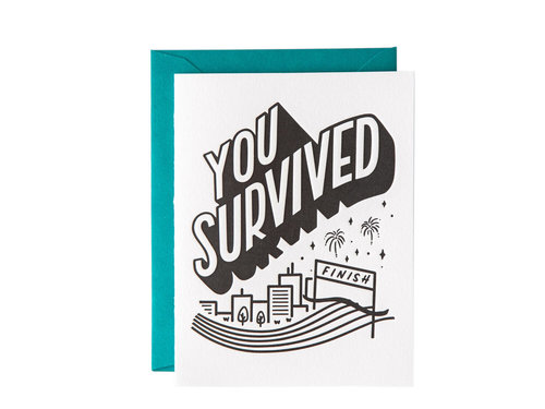 You Survived Paper Epiphanies Card