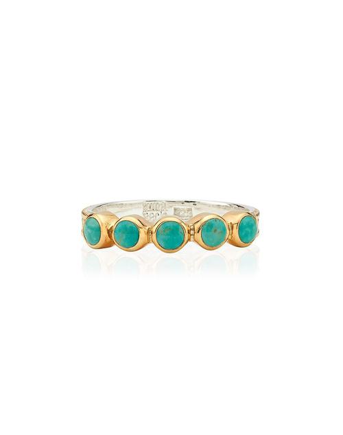 Turquoise Multi Stone Ring
