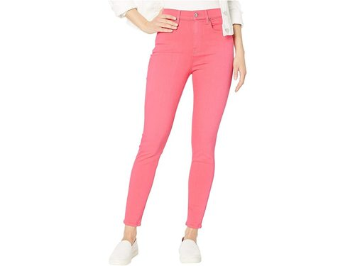 High Waist Ankle Skinny Sunset Coral