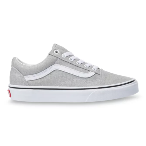 Vans UA Old Skool Silver/True White