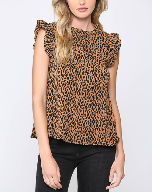 Cheetah Girl Top