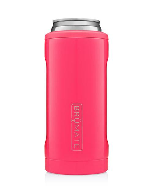 Hopsulator Slim 12oz - Neon Pink